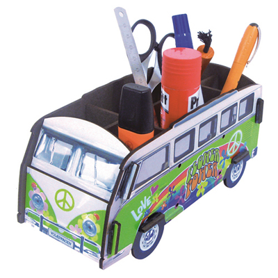 Pencil box - hippie bus