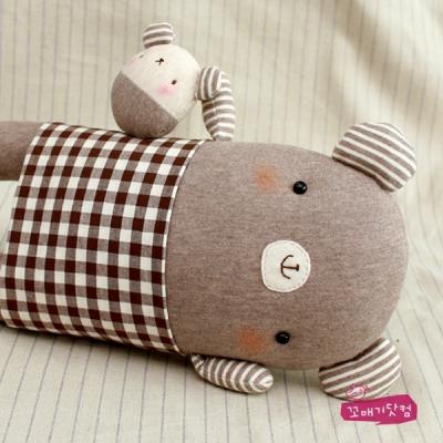 [DIY]귀염곰곰 쿠션 만들기 패키지 (솜포함)