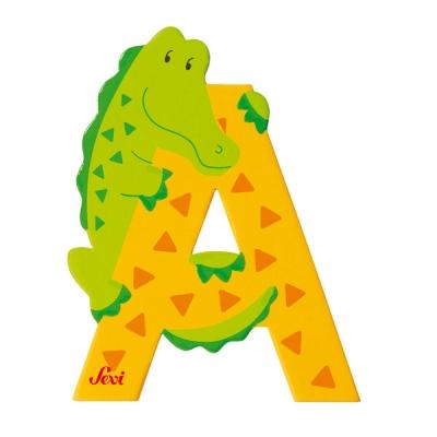 원목동물 알파벳- A(#81601)