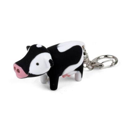 Cow LED Keychain