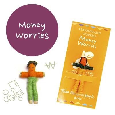 꼬마 전문가 걱정인형  Money Worries