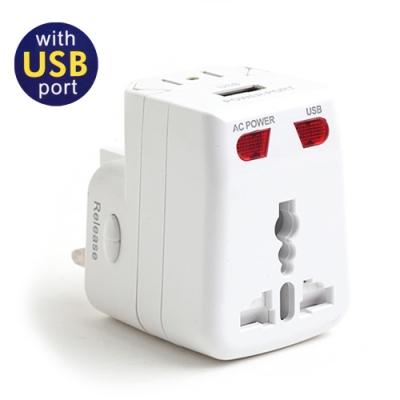 인트래블 USB 겸용 멀티플러그(아답터) NO:0217