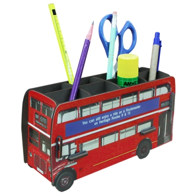 Pencil box-double decker bus