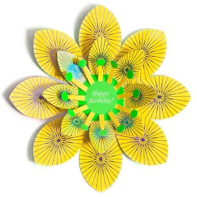 Bloom card Happy B-day