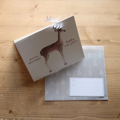 CHRISTMAS CARD_deer