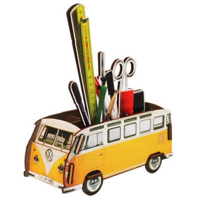 Pencil box-yellow bus