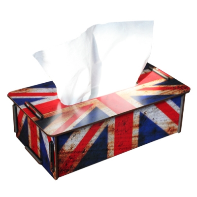 Tissue box-Union Jack
