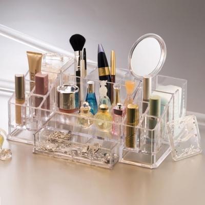 투명 화장품 향수 정리함(대)