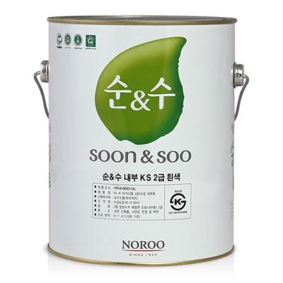 순앤수 KS2급 수성 페인트 4L