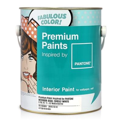정품 팬톤페인트 실내용 4L 친환경 방문 벽지용