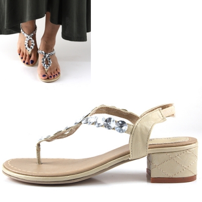 jewelry Girl Midi Sandal [CK0712]