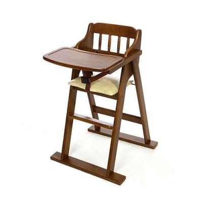 [베이비캠프]유아용 접이식 원목식탁의자(유러피안-엔틱)