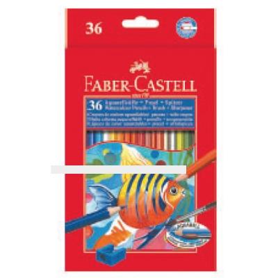 [파버카스텔]수채색연필 36색(지관)