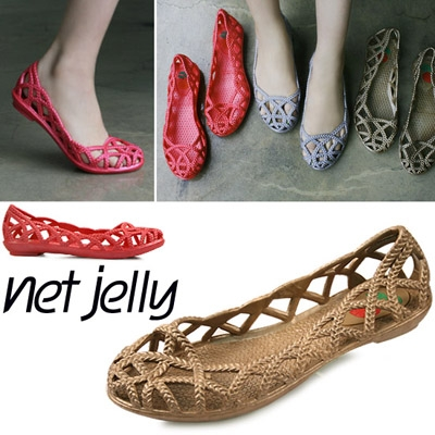 단독제작 Rope pattern jelly shoe_KM12s442