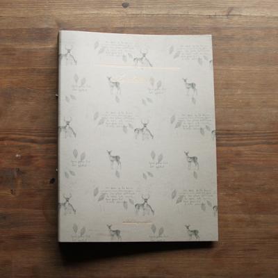RING BINDER_deer