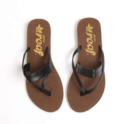 black & white flip-flop