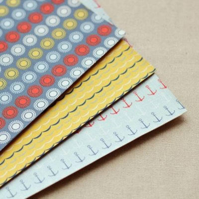 Fabric Sticker - 24 SAILING