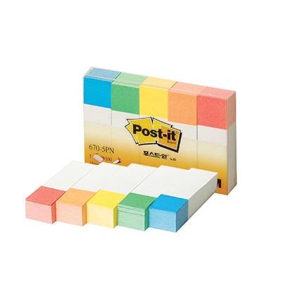3M 포스트잇 페이지 마커(670-5PN)