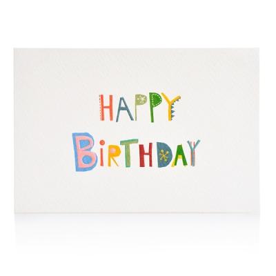 Font Card_Happy Birthday