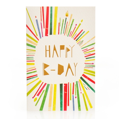 Font Card(G)_Happy B-day