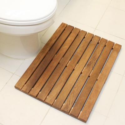 원목욕실매트일반형엔틱(60X45Cm)