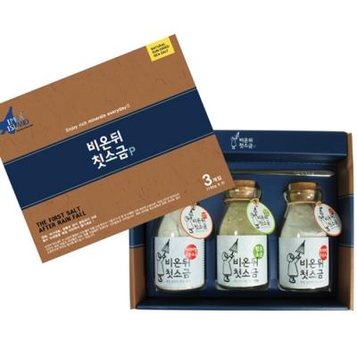 신안솔트 복합 2호 (구운천일염 2개 + 3년숙성 함초천일염 1개)