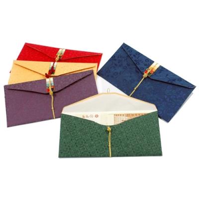비단 매듭 상품권봉투