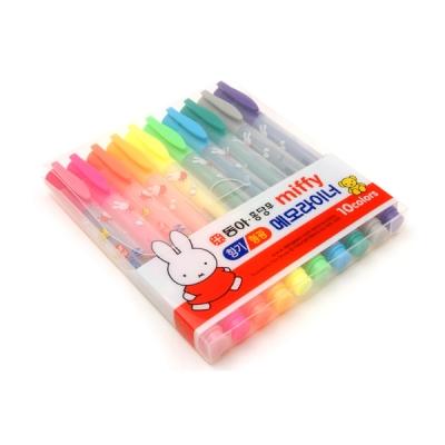 동아 미피향기형광펜 10컬러세트