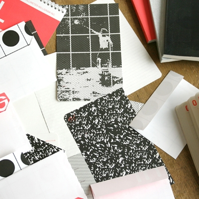 HAPPY RECYCLING-letter paper set