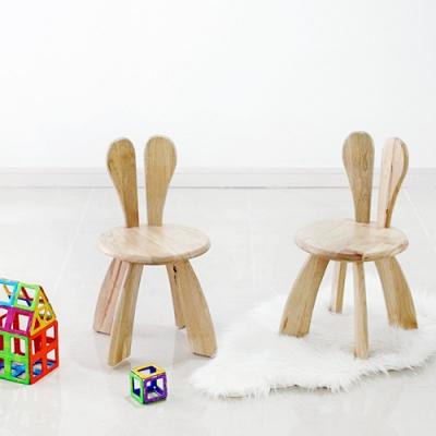 어린이 토끼의자