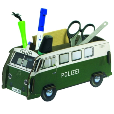 Pencil box-police bus