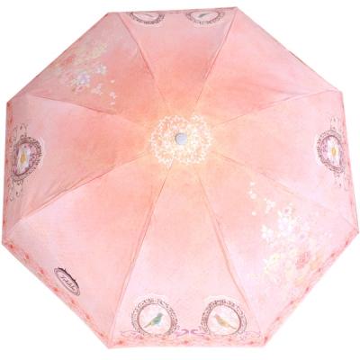 로맨틱브로치 5단 우산