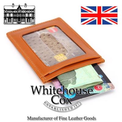 whitehouse cox S7134(화이트하우스 콕) 영국 명품 가죽 카드 케이스