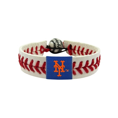 New York Mets Classic Baseball Bracelet