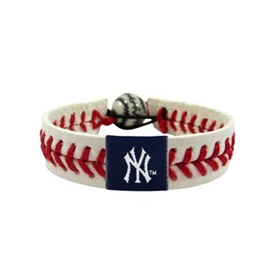 New York Yankees Classic Baseball Bracelet