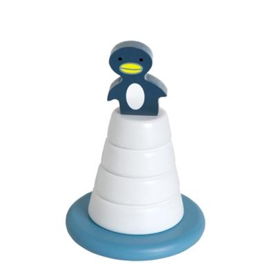 [프랑크앤피셔]Penguin on iceberg_탑쌓기