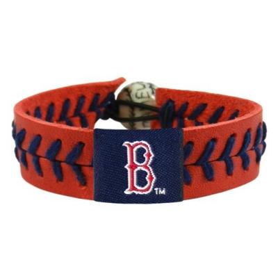 Boston Red Sox Team Color Baseball Bracelet