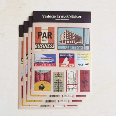 Vintage Travel Sticker