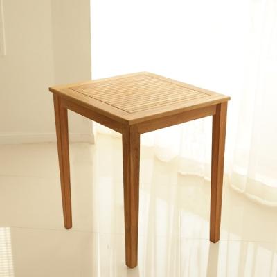 티크 비알 슬랫 티 테이블