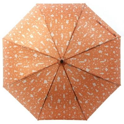 [VOGUE] 보그 돔형 자동장우산(양산겸용) - 칸타빌레 (오렌지)