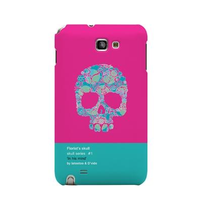 Skull Purple for Galaxy Note 1 [La tootoo]