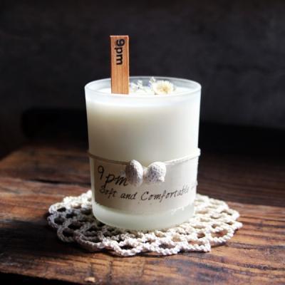 [Organic Soy Candle] 전망좋은 꽃집 - 아기향기