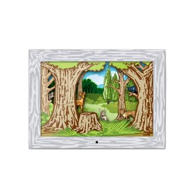 Woodlands Diorama Scene