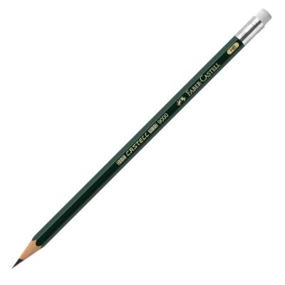 파버 카스텔 9000 지우개 연필 1타스(HB-119200,B-119201)