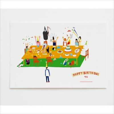 Happy Birthday - 생일축하엽서