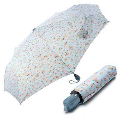 [VOGUE] 보그 3단 자동 우산(양산겸용) - 소녀에게 (블루)