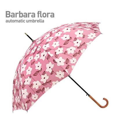BARBARA FLORA (Pink) 자동 장우산
