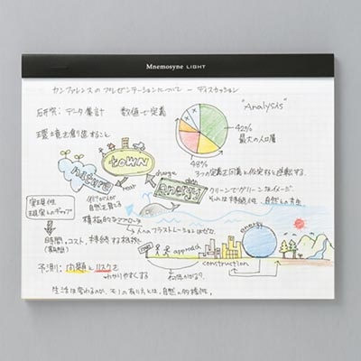 Mnemosyne Light 노트패드북 A4(N171)