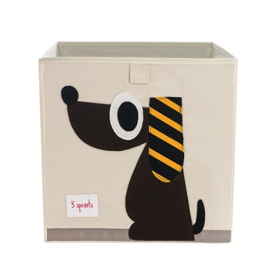수납정리함 박스(장난감정리함) - 강아지