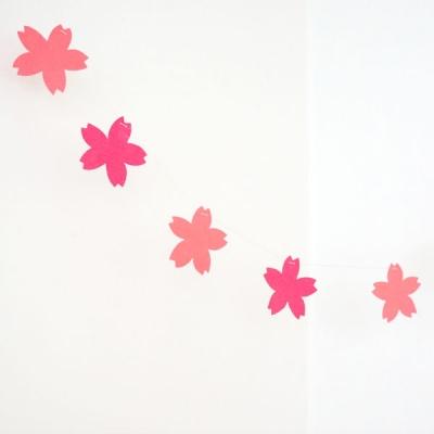 벚꽃 가랜드